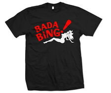 Bada Bing T-Shirt The Sopronos Shirt HBO Strip Club Security