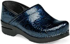 Dansko Professional Navy Arabesquet leather Women shoes  EU 37 38