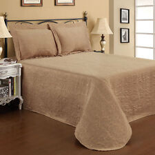 Madison Taupe Bedspread