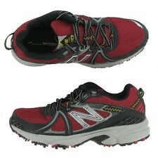 New Balance MT510 Trail Running Shoes Black/Red Wide Widths 4 E