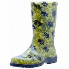 Sloggers Women Green Tall Waterproof Rain & Garden Boots