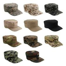 Camouflage Mens Military Hat Army Ranger RipStop Patrol Fatigue Cap Combat Hats