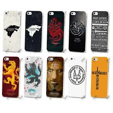 NEW GAME OF THRONES STARK LANNISTER HARD CASE COVER FOR APPLE IPHONE 4 4S 5 5S