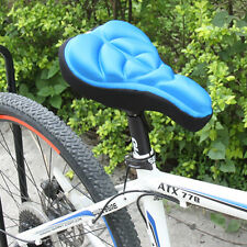 Cycling Bicycle Silicone Saddle Seat Cover Silica Gel Cushion Soft Pad
