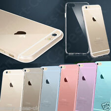 Accessories for Apple iPhone 6 4.7 TPU Soft Clear Gel Back Case Cover +Protector
