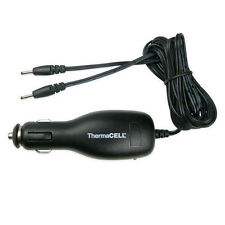 ThermaCell Heated Insoles Foot Warmer Car Charger #00554