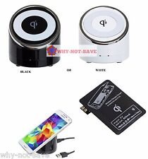 Wireless External charger Charging Pad Receiver for All samsung galaxy & Note 2