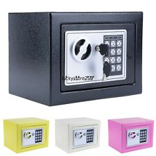 Digital Flat Recessed Wall Safe Home Security Lock Gun Cash Box Electronic 9""