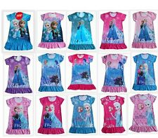 Free Shipping! Wholesale Disney's Frozen princess Girls cool nighty / Dress 3-8Y