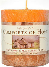 Crystal Journey - NATURAL WAX PILLAR Candle - Your Choice of 6 Theme Scents