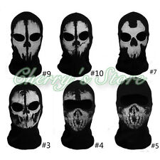 Balaclava Ghost Skull Face Mask Bike Skateboard Hood Call of Duty 10 Cos Costume