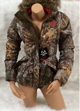 NEW STYLE 2014!!!! REALTREE Women's Camo Bubble Insulated Parka Jacket S M L XL