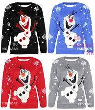 New Womens Ladies Knitted Unisex Christmas Xmas Jumper Sweater Novelty Top 8-28