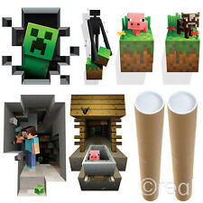New Minecraft Mining Or Creatures Wall Graphic Poster Hangings Picture Official