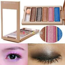 New 5 Color Women Glitter Makeup Set Palette Eyeshadow Foundation Powder Tool