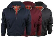 Kids Classic Harrington Retro Jacket - Tartan Lined