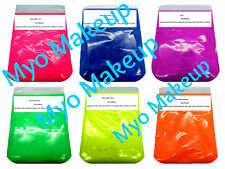 New Myo Eyeshadow Pigment Mica Mineral Makeup Bold Vibrant Color's 1oz Or 1LB