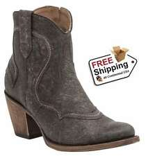 Lucchese Jorie Short Boot with Zipper Side M4924