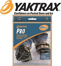 Yaktrax PRO Snow Ice Walking Running Walker Shoe Chain Safety Slip Grip/Grippers