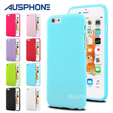 Jelly Slim Soft Silicone Gel TPU Case Cover for Apple iPhone 7 Plus 7 6S 6 5S 4S