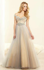 2014 New Long Fashion Cocktail Evening Formal Party Wedding Prom Dress Ball Gown