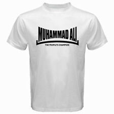 MUHAMMAD ALI The *People's Champion Boxing Legend Men's White T-Shirt Size S-3XL