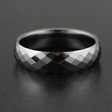 Mens Tungsten Wedding Band Engagement Ring 6mm Wide