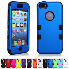 BIG SALE CHEAPEST 3-in-1 Skins Hard Snap Shield Cases Covers For Apple iPhone 5C