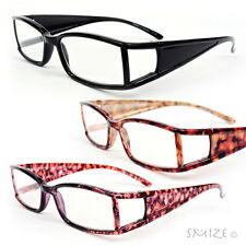 New Classic Frame Double Temple Stylish Reading Glasses 150-275
