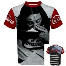COCAINE Drug Funny party club sexy clubbing electronic music hipster T-SHIRT CCO