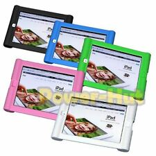 For APPLE iPad 2 3rd 4th Gen. Shock Impact Proof Silicone Rubber Gel Cover Case