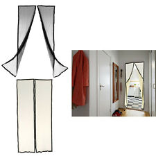 Hands-free Mesh Magnetic Screen Door Curtain Anti Instant Mosquito Fly Bug