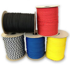 550 Paracord Type III 7 Strand Mil-Spec Parachute Cord-250', 300', 1000' Spools