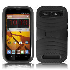 ZTE Warp Sync (N9515) Rugged Cover Hard Case with Soft Skin & Kick Stand