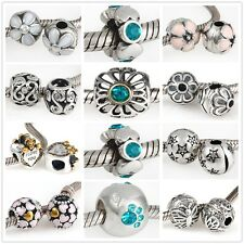 925 Sterling Silver Nature Beauty Series Bead Fits European Charm Bracelet AN
