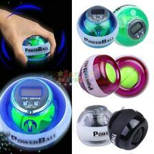 H3E# Gyroscope LED Power Gyro Wrist Force Ball Healthy Sport+Speed Meter Counter