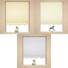 Speedy Plain UV Scalloped Edge Roller Blind