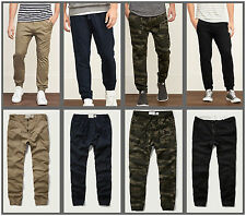 New Arrivals Abercrombie & Fitch By Hollister Jogger Chinos AF new A&F