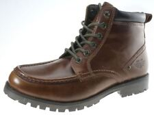 Mens Red Tape Keasden Tan brown Leather lace up ankle boots