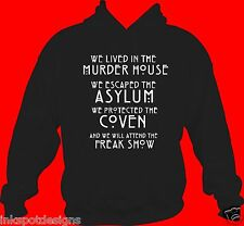 American Horror Story Hoodie AHS SEASONS FREAK SHOW