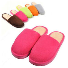 Women Men Soft Warm Cotton Home Anti-slip Shoes Sandal House Indoor Slippers