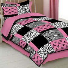 Pink Skull Comforter Collection
