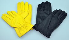 Amazing general use leather gloves for driving, general use, gardening, dress