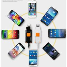 Cable for all smartphones Compatible with iOS & Andorid Micro 5pin Lightning