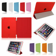 Leather Smart Cover Wake / Sleep Case w/stand for Apple iPad 2/3/4/5/6 mini air