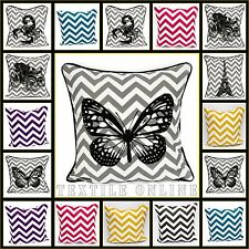 "Chevron Stylish Cushion Cover 100% Cotton Pillow Case 18""x18"" Cushion Covers"