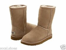 UGG AUSTRALIA WOMEN'S SHOES CLASSIC SHORT SAND  BOOTS 5825 GENUINE UGG SALE NEW