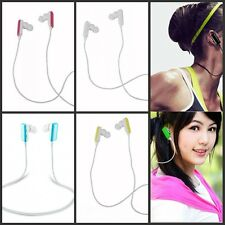 Wireless Bluetooth Stereo Earbud Headset with Mic Headphones for Android-iPad PS