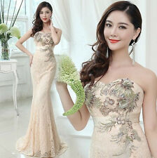 2014 New Sexy Formal Wedding Prom Party Bridesmaid Evening Ball Gown Dress L279