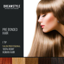 Top Quality Pre Bonded I Tip 100% Remy Human Hair Extensions Cuticle Correct